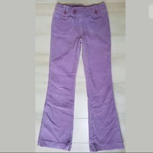 EUC Limited Too! 12 Slim Lilac Corduroy Pants Girl